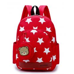 Csillagos hátizsák /piros/